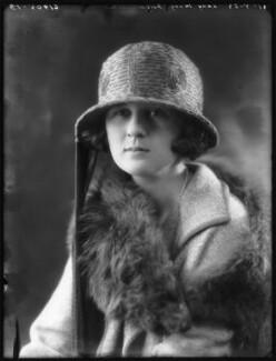 Lady Mary Constance Hamilton Gosling (née FitzMaurice), by Bassano Ltd - NPG x122507