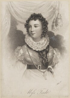 Miss Forde, probably by William John Alais - NPG D14021