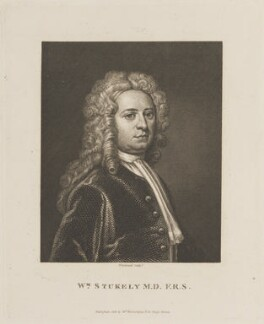 William Stukeley, by P. Rothwell, published by  William Richardson - NPG D14025