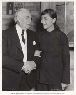 Harry Gordon Selfridge Sr; Anna May Wong, by Unknown photographer - NPG x126052
