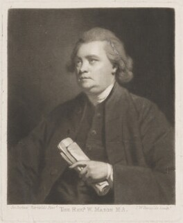 William Mason, by and published by Samuel William Reynolds, after  Sir Joshua Reynolds - NPG D14034