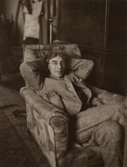 Roger Fry, by Augustus Charles Cooper, 28 February 1918 - NPG x13109 - © National Portrait Gallery, London