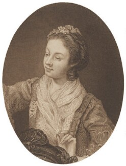 Eva Maria Garrick (née Veigel), after William Hogarth - NPG D14041