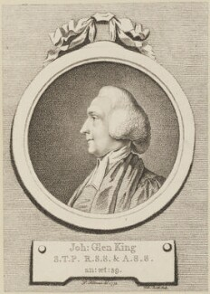 John Glen King, by Gabriel Smith, after  Pierre-Étienne Falconet - NPG D14043