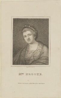 Frances Brooke, by James Hopwood Sr, published by  Vernor, Hood & Sharpe - NPG D14044