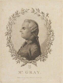 Thomas Gray, by James Basire, after  William Mason, and after  Benjamin Wilson, published 1 March 1775 (circa 1771) - NPG D14054 - © National Portrait Gallery, London