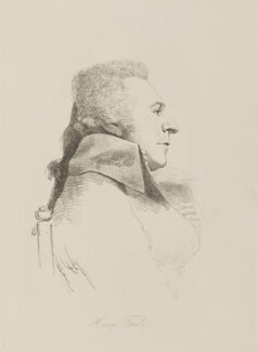 Henry Fuseli, by William Daniell, after  George Dance - NPG D14056