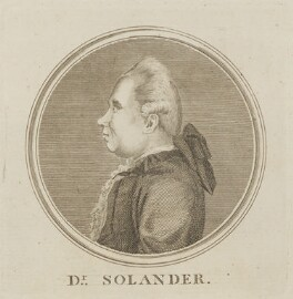 Daniel Charles Solander, by Unknown artist - NPG D14059