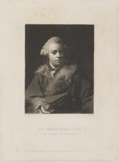Sir Joseph Banks, Bt, by Samuel William Reynolds, published by  Hodgson & Graves, after  Sir Joshua Reynolds - NPG D14060