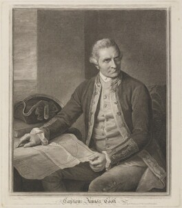 James Cook, by and published by John Keyse Sherwin, published by  Robert Wilkinson, after  Nathaniel Dance (later Sir Nathaniel Holland, Bt) - NPG D14061