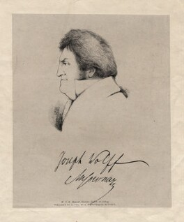 Joseph Wolff, by W.B.M. Measor - NPG D17933