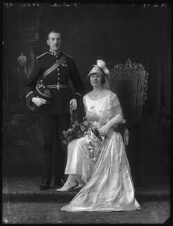 James Hebblethwaite Martin Frobisher; Hon. Augusta Caroline Georgina Harriet Mary Frobisher (née Napier), by Bassano Ltd - NPG x122528