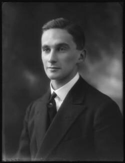 Hon. James Willoughby Bertie, by Bassano Ltd - NPG x122570