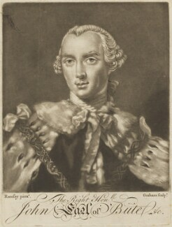 John Stuart, 1st Marquess of Bute, after Allan Ramsay - NPG D14089
