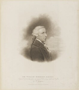 Sir William Hamilton, by William Thomas Fry, published by  T. Cadell & W. Davies, after  Charles Grignion, after  Hugh Douglas Hamilton - NPG D14099