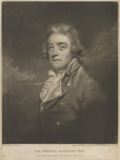 Sir Brooke Boothby, 6th Bt, by and published by John Raphael Smith, after  Sir Joshua Reynolds - NPG D14111
