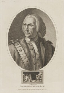 William Beckford, by John Chapman, published by  John Wilkes, after  Agostino Carlini - NPG D14113