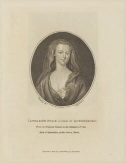 Catherine Douglas (née Hyde), Duchess of Queensberry, by and published by Silvester (Sylvester) Harding, after  John Ogborne - NPG D14123