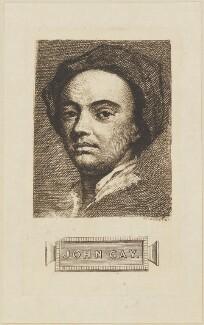 John Gay, by Willis, after  Sir Godfrey Kneller, Bt - NPG D14126
