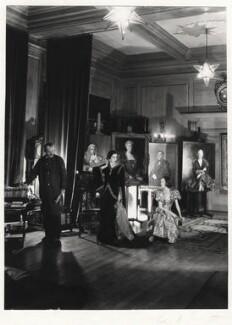 Sir Oswald Birley; Rhoda (née Lecky Pike), Lady Birley; Maxime de la Falaise, by Cecil Beaton - NPG x13190