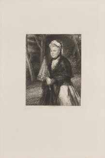Mary Stuart (née Wortley Montagu), Countess of Bute, by William Greatbach, published by  Richard Bentley, after  Sir Joshua Reynolds - NPG D14131