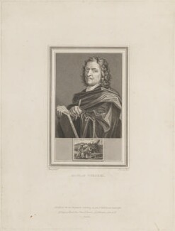 Nicolas Poussin, by John Corner, published by  Longman, Hurst, Rees, Orme & Brown, and published by  Lackington, Allen & Co, after  Nicolas Poussin - NPG D14132