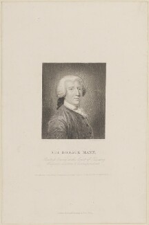 Sir Horace ('Horatio') Mann, 1st Bt, by William Greatbach, published by  Richard Bentley, after  John Astley - NPG D14135
