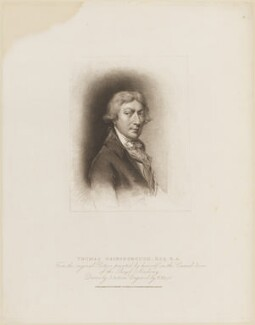 Thomas Gainsborough, by Henry Meyer, published by  T. Cadell & W. Davies, after  John Jackson, after  Thomas Gainsborough, published 27 November 1810 - NPG D14138 - © National Portrait Gallery, London