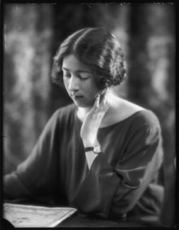 Lady Mary Elizabeth Abel Smith (née Carnegie), by Bassano Ltd - NPG x122602