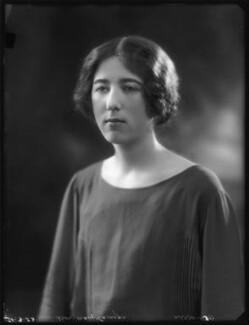 Lady Mary Elizabeth Abel Smith (née Carnegie), by Bassano Ltd - NPG x122603