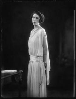 Florence (née Padelford), Lady Ebury, by Bassano Ltd, 23 July 1923 - NPG x122610 - © National Portrait Gallery, London
