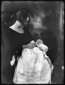 Hon. Patrick Sidney Cunliffe (née Frend); Robert George Cunliffe, by Bassano Ltd - NPG x122622