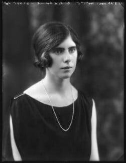Hon. Joyce Laline Whidborne (née Plunket), by Bassano Ltd - NPG x122651