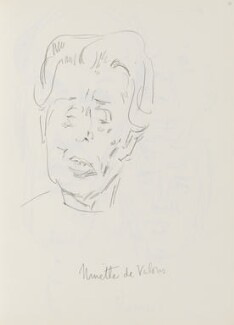 Ninette de Valois, by Cecil Beaton - NPG D17943(55)
