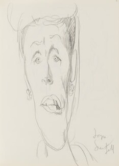 Joyce Grenfell, by Cecil Beaton, early 1970s - NPG D17943(71) - © National Portrait Gallery, London