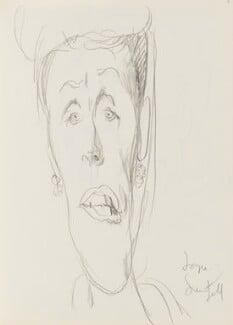 Joyce Grenfell, by Cecil Beaton, early 1970s - NPG D17943(71) - © National Portrait Gallery, London