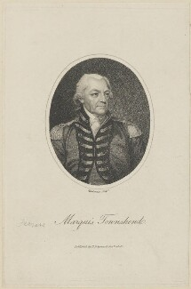 George Townshend, 4th Viscount and 1st Marquess Townshend, by Mackenzie, published by  Henry Delahoy Symonds - NPG D14159