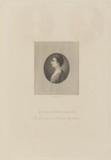 Elizabeth Carter, by Joseph Brown, published by  Richard Bentley - NPG D14162