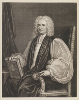 John Potter, by George Vertue, after  Thomas Gibson - NPG D14171