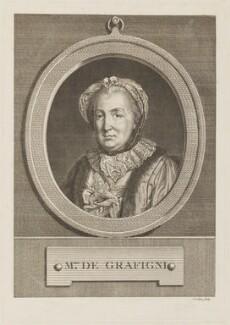 Françoise de Graffigny (née d'Issembourg Du Buisson d'Happoncourt), by Henri Levêque - NPG D14173