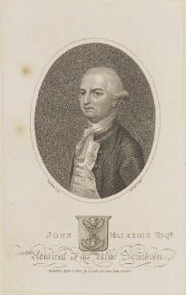 John Macbride, by Henry Richard Cook, published by  Joyce Gold, probably after  John Smart - NPG D14178
