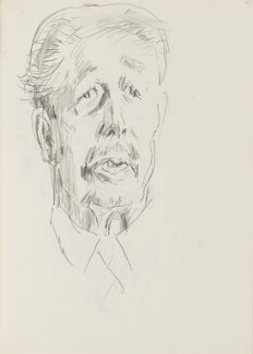 Harold Macmillan, 1st Earl of Stockton, by Cecil Beaton, early 1970s - NPG D17943(113) - © National Portrait Gallery, London
