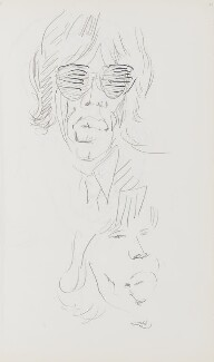 Mick Jagger, by Cecil Beaton - NPG D17946(77)