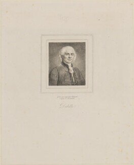 Jacques Delille, by James Hopwood Jr, after  Paul Delaroche - NPG D14188