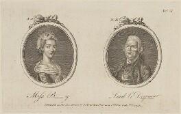 'Miss B-y and Lord le Despencer' (Francis Dashwood, 11th Baron Le Despencer), published by Archibald Hamilton Jr - NPG D14191