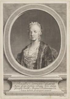 Rosalba Carriera, by Joseph Wagner - NPG D14198