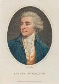 Edmund Burke, by John Chapman, published by  John Wilkes - NPG D14203