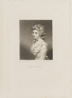 Fanny Kemble, by Samuel William Reynolds, after  Sir Joshua Reynolds - NPG D14213
