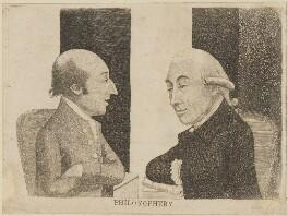 'Philosophers' (James Hutton; Joseph Black), by John Kay - NPG D14215