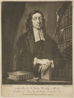 John Wesley, by James Watson, printed by  Robert Sayer, after  J. Williams - NPG D14216